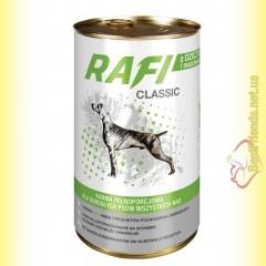 Rafi Classic консерва для собак с дичью и морковкой 1250гр