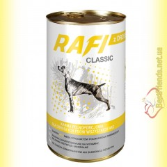 Rafi Classic консерва для собак с домашней птицей 1250гр