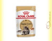 Купить Royal Canin Maine Coon Adult в соусе 85гр