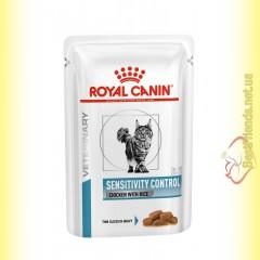 Royal Canin Sensitivity Control Cat Chicken 85гр