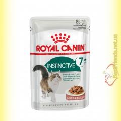 Royal Canin Instinctive +7 в соусе 85гр