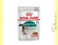Купить Royal Canin Instinctive +7 в соусе 85гр