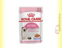 Купить Royal Canin Kitten Instinctive в желе 85гр