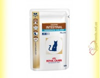 Купить Royal Canin Gastro Intestinal Moderate Calorie Cat 85гр