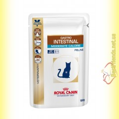Royal Canin Gastro Intestinal Moderate Calorie Cat 85гр