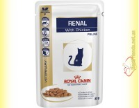 Купить Royal Canin Renal Feline with Chicken 85гр