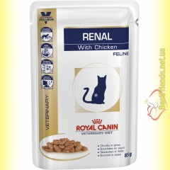 Royal Canin Renal Feline with Chicken 85гр