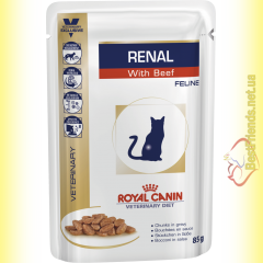 Royal Canin Renal Feline with Beef 85гр