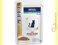 Купить Royal Canin Renal Feline with Tuna 85гр