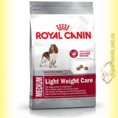 Royal Canin Medium Light Weight Care 3кг