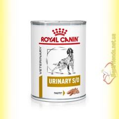 Royal Canin Urinary S/O Dog Cans 410гр