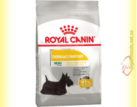 Купити Royal Canin Mini Dermacomfort корм для собак Дрібних порід з Чутливою шкірою