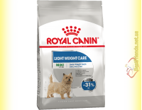 Купити Royal Canin Mini Light Weight Care корм для собак Дрібних порід схильних до зайвої ваги