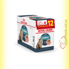 Royal Canin Hairball Care в соусе 12*85гр