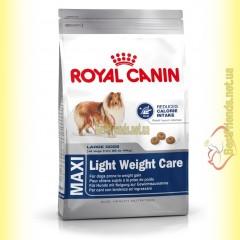 Royal Canin Maxi Light Weight Care 15кг