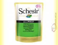 Купить Schesir Chicken Fillet консервы для кошек, пауч 100гр