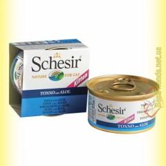 Schesir Tuna Aloe Kitten консервы для котят 85гр