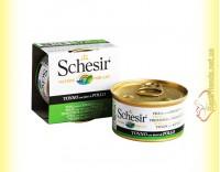 Купить Schesir Tuna Chicken консервы для кошек 85гр