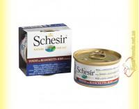 Купить Schesir Tuna Whitebait Rice консервы для кошек 85гр
