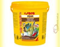 Купить Sera Vipan 21л. (4кг) основной корм для всех декоративных рыб