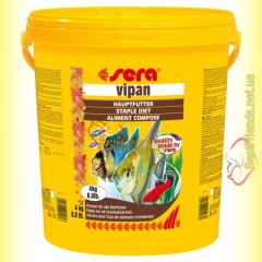Sera Vipan 21л. (4кг) основной корм для всех декоративных рыб