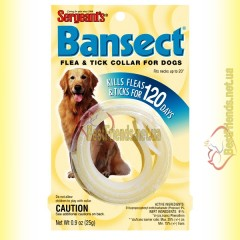 Sergeants Bansect ошейник от блох и клещей для собак 50см