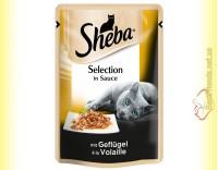 Купить Sheba Selection in Sauce с Домашней птицей в соусе 85гр