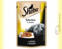 Купить Sheba Selection in Sauce с Курицей в соусе 85гр
