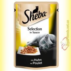 Sheba Selection in Sauce с Курицей в соусе 85гр