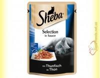 Купить Sheba Selection in Sauce с Тунцом в соусе 85гр