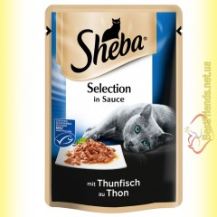 Sheba Selection in Sauce с Тунцом в соусе 85гр