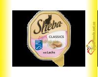 Купить Sheba паштет с лососем 85гр