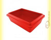 Купить Sum-Plast Туалет с бортиком для котов 42см