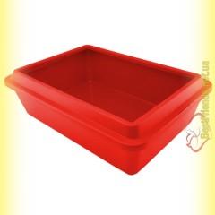 Sum-Plast Туалет с бортиком для котов 42см