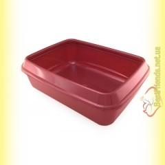 Sum-Plast Туалет с бортиком для котов 45см