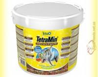 Купить TetraMin Flakes 10л. (2,1кг) основной корм для тропических рыб