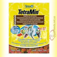 TetraMin Flakes 12гр. основной корм для тропических рыб