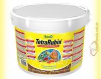 Купить TetraRubin Flakes 10л. (2,1кг) корм в виде хлопьев для усиления окраски рыб