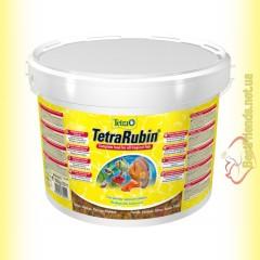 TetraRubin Flakes 10л. (2,1кг) корм в виде хлопьев для усиления окраски рыб