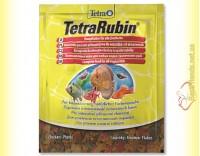 Купить TetraRubin Flakes 12гр. корм в виде хлопьев для усиления окраски рыб