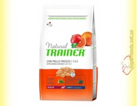Купить Trainer Natural Adult Medium With Chicken Rice & Aloe Vera
