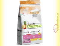 Купить Trainer Fitness3 Puppy & Junior Mini With Duck Rice Oil 2кг