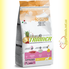 Trainer Fitness3 Puppy & Junior Mini With Duck Rice Oil 2кг