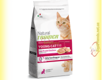 Купить Trainer Natural Young Cat With Fresh Chicken 300гр 1,5кг