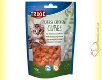 Купить Trixie Premio Cheese Chicken Cubes Лакомство для кошек кубики - курица и сыр 50гр