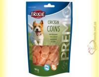 Купить Trixie Premio Chicken Coins Лакомство для собак с мясом цыплёнка 100гр