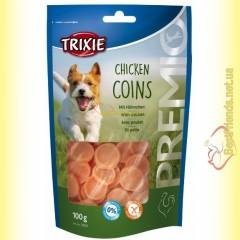 Trixie Premio Chicken Coins Лакомство для собак с мясом цыплёнка 100гр