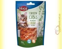 Купить Trixie Premio Chicken Cubes Лакомство для кошек кубики - курица 50гр