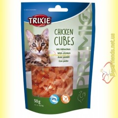 Trixie Premio Chicken Cubes Лакомство для кошек кубики - курица 50гр