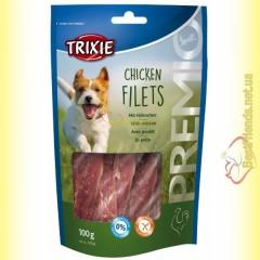 Trixie Premio Chicken Filets Лакомство для собак с мясом курицы 100гр